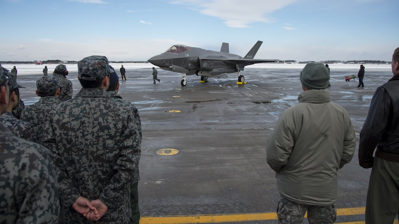 F-35A arrives at Misawa AB
