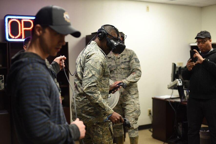 366th TRS Airmen VR simulation