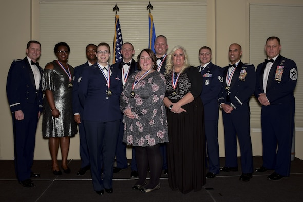 Wing recognizes Airmen for outstanding performances