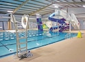 """Eyster Pool offers Soldiers a cheap way to get out of the barracks every Wednesday from 6 to 8 p.m. for $3 with """"BRO"""" Swim. The event is geared toward Soldiers, encouraging them to visit Eyster Pool to swim laps, slide into the pool and/or gain muscle on the rock climbing wall."""