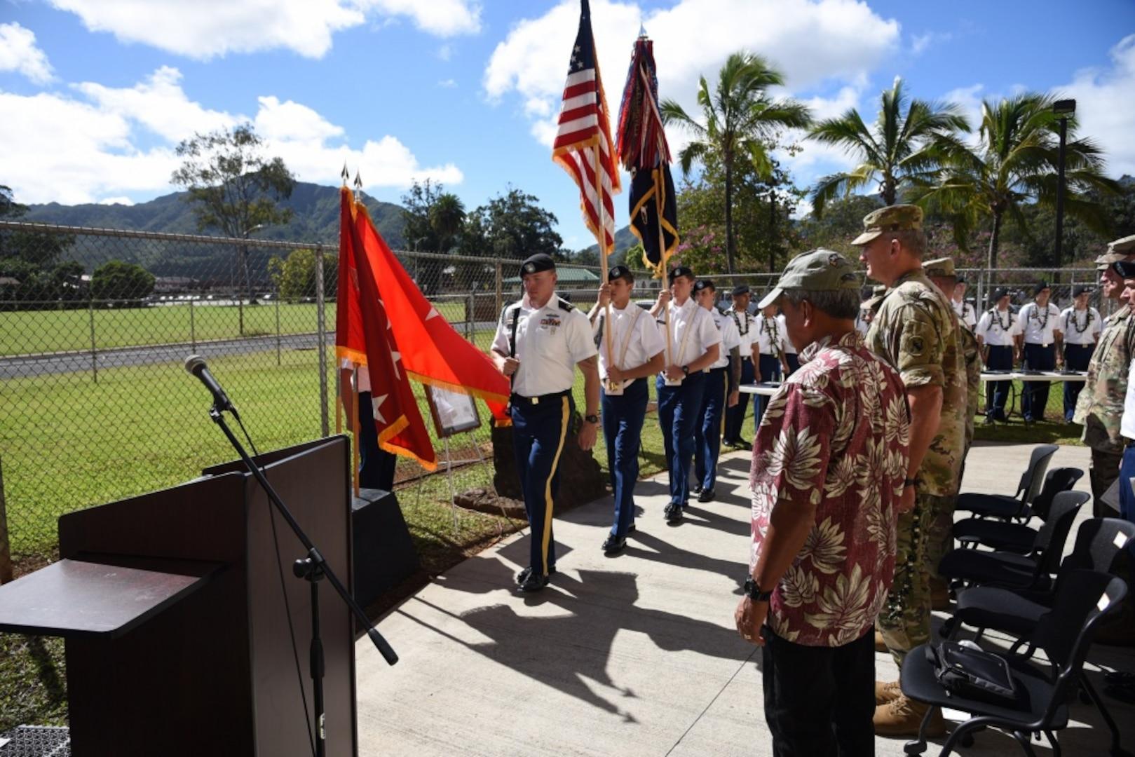 1-21 Infantry 'Gimlets' Honor Fallen Heroes