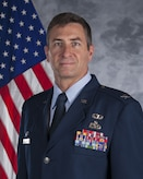Official photo of Col. John W. Chastain III, 23d Maintenance Group commander