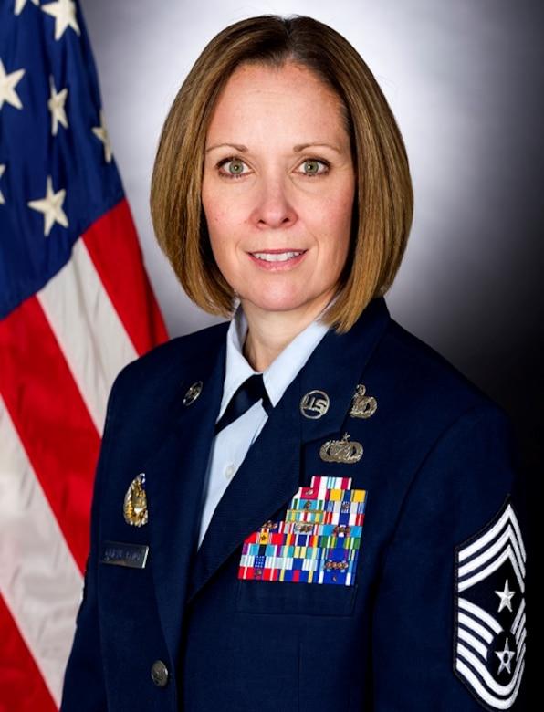 Command Chief Master Sergeant Karen F. Beirne-Flint