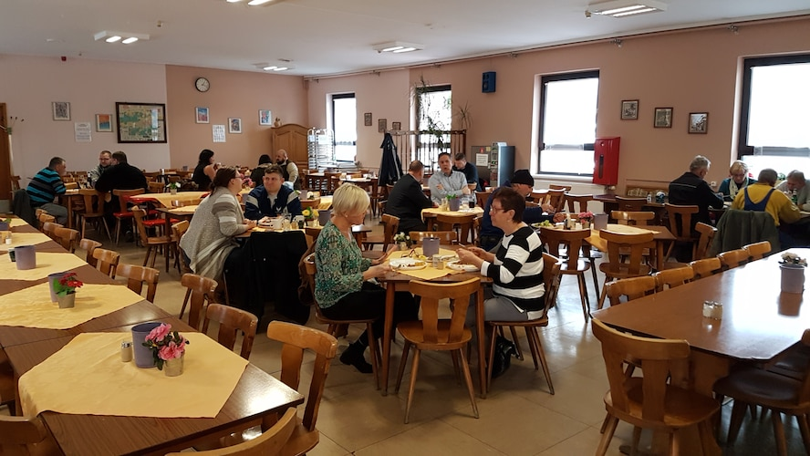 Frau Vodde began operating the Einseidlerhof Canteen almost 40 years ago in 1977. In 1995, she moved to Ramstein and operated the canteen here for the last 22 years until her recent retirement.