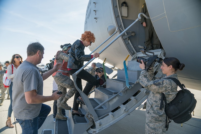 Rosie the Riveter, March Air Reserve Base, C-17,