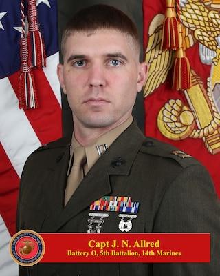 Commanding Officer, Oscar Battery, 5th Battalion, 14th Marine Regiment