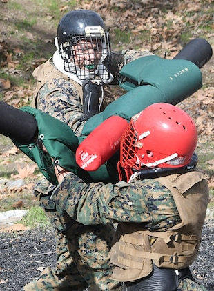 MCTSSA Marines conduct combat skills training