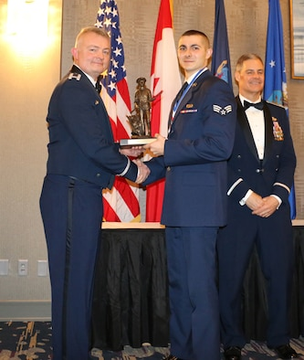 Spine is Airman of the Year
