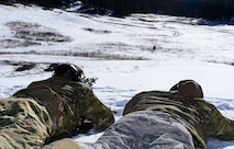 The Advanced Designated Marksmen Course, a two week long training course at Fort Bliss, TX., qualifies security forces snipers to be part of Close Precision Engagement Teams, or Counter Sniper Teams, who are charged with protecting flightines and other sensitive areas.