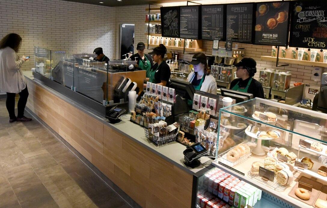 Starbucks opens at Mini Mall
