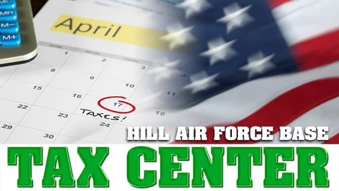 Hill AFB Tax Center 2018 (U.S. Air Force graphic by David Perry)