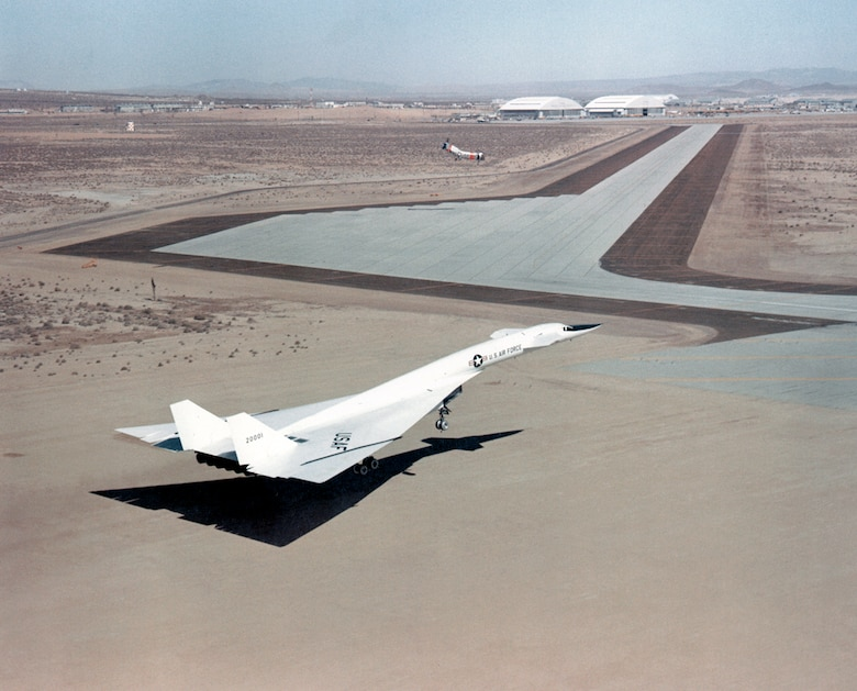 #OTD 30 Jan 1968 at Edwards - A new Project Directive from the Air Force Chief of Staff directed the then Air Force Flight Test Center to continue support of the North American XB-70A Valkyrie Flight Research Program.