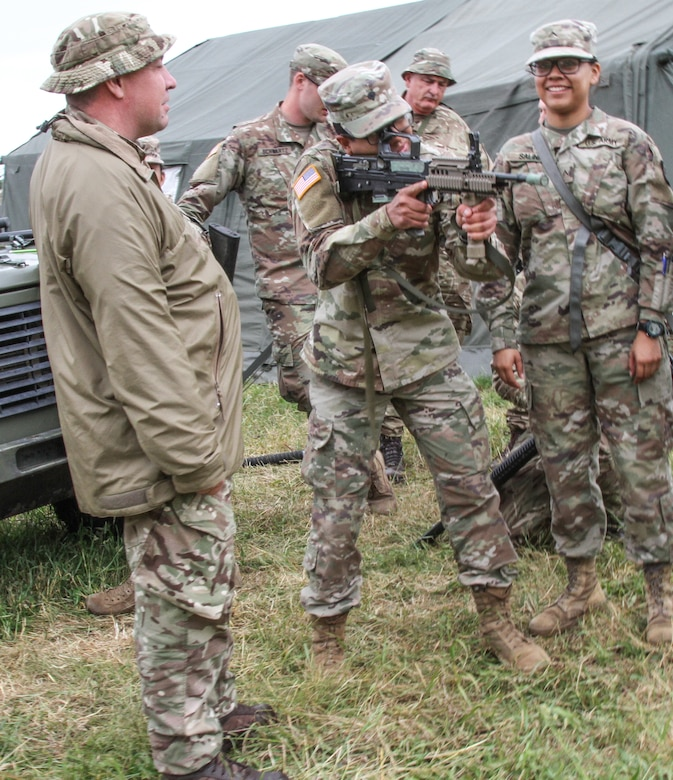 U.S. Army Reserve, British units enhance medical readiness at Saber Strike