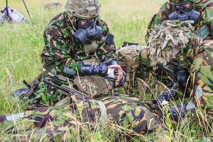 U.S. Army Reserve, British units enhance medical readiness at Saber Strike
