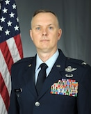 Official photo of Col John Creel