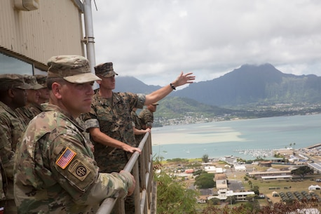 U.S. Army visits MCBH during RIMPAC