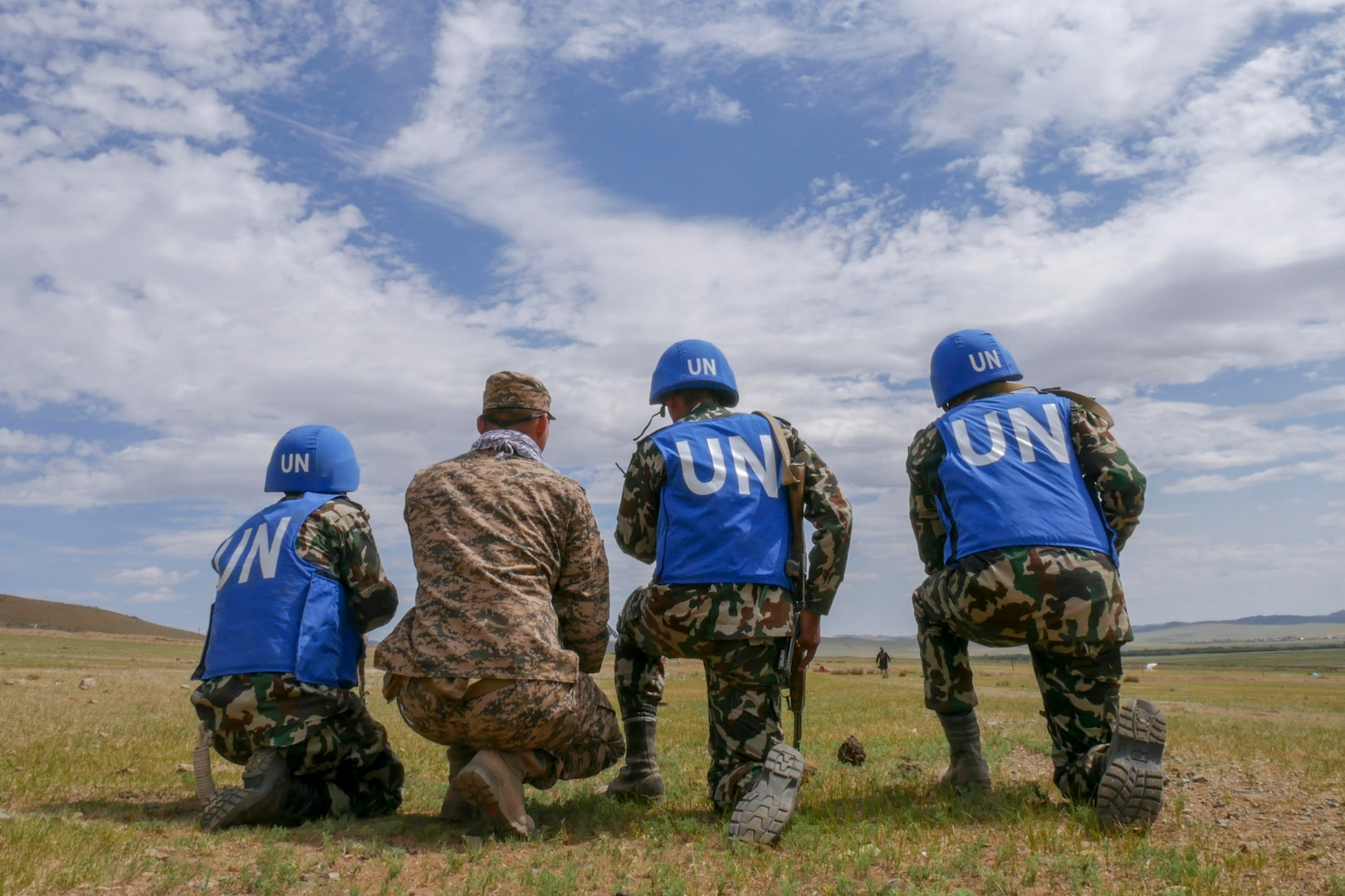 Mongolian Armed Forces host Khaan Quest 2018 peacekeeping field-training exercise