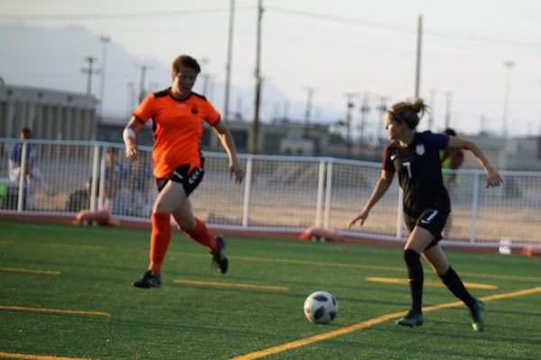 Elite military soccer players from around the world squared off during the tournament to determine who were the best women soccer players among the international militaries participating.