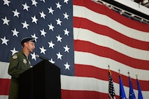 495th FG Change of Command