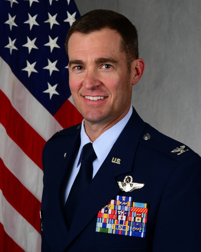 Colonel Dyer is the Vice Commander, 47th Flying Training Wing, Laughlin Air Force Base, Texas. In this capacity, he is responsible for Specialized Undergraduate Pilot Training for the United States Air Force and allied pilots. (U.S. Air Force Photo by Airman 1st Class Anne McCready)