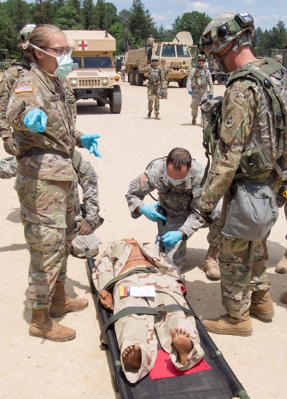 Lifesaving training comes to Fort McCoy in Regional Medic exercise