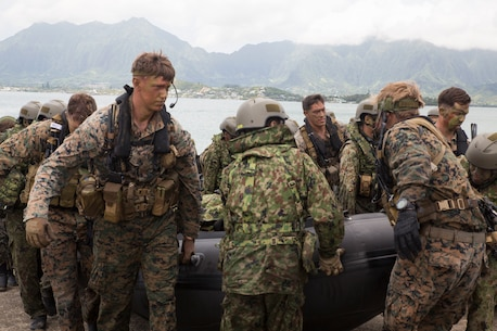 RIMPAC participants practice amphib operations in Hawaii