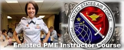 Enlisted Professional Military Education Instructor Course
