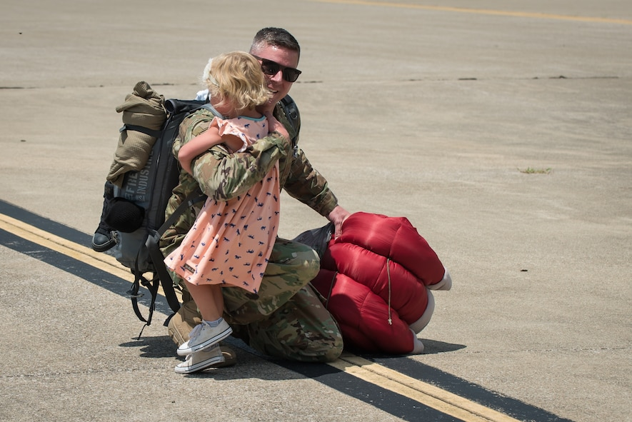 Kentucky Air Guardsmen return from Persian Gulf