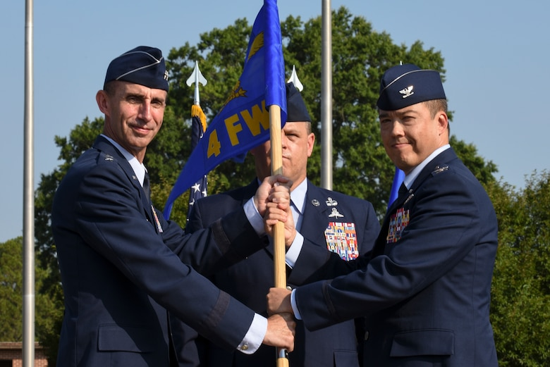 Col. Yates assumes command of 4th FW