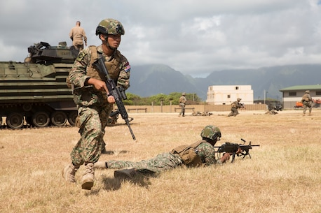 RIMPAC participants get familiar with AAVs