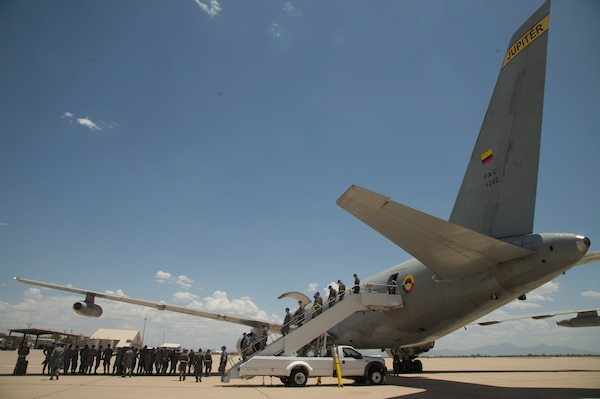 Colombian Air Force participates in Red Flag