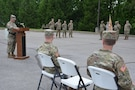 Quartermaster Brigade Bid Farewell during Change of Command Ceremony