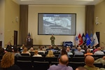 Distribution commander unveils command philosophy at inaugural town hall