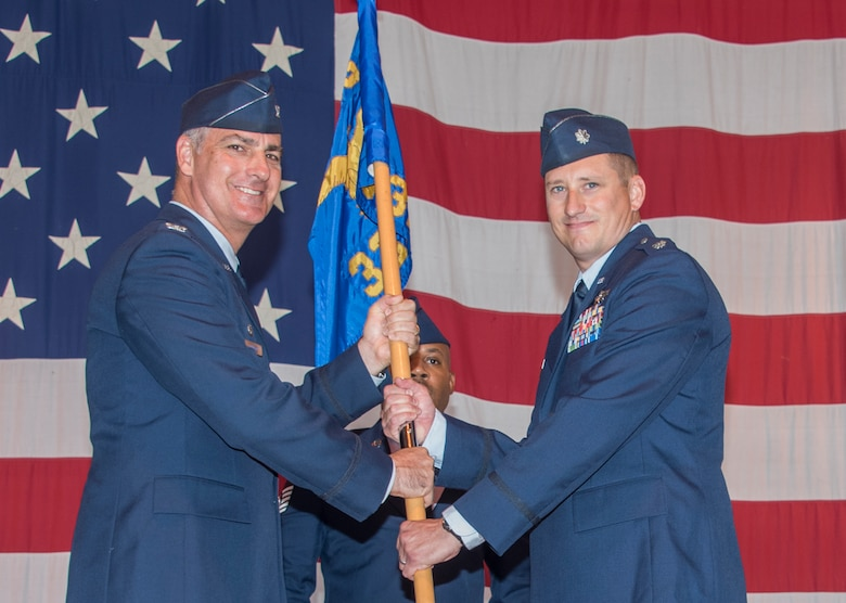 33rd FTS change of command