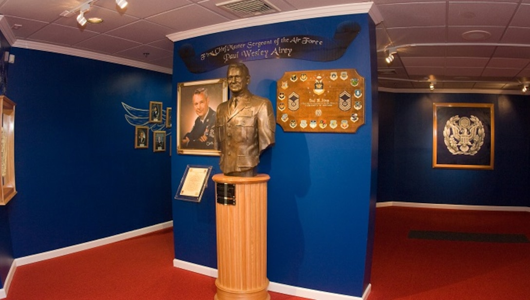 CMSgt of the Air Force Exhibit Hall