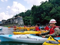 Venture Outdoors will lead a group of paddlers, invited media and meteorologists from Aspinwall Riverfront Park to Allegheny River Lock and Dam 2 near Highland Park Bridge in Pittsburgh, Pennsylvania