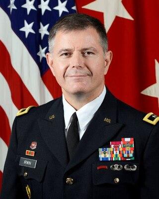 Major General Lew Irwin, Commandant JFSC