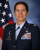 Official portrait of Col. Athanasia Shinas, commander, 624th Regional Support Group.