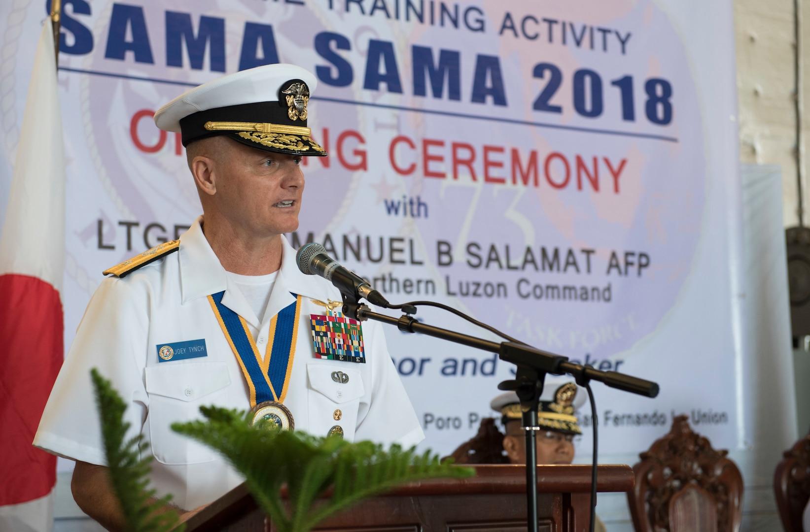 U.S., Philippines Strengthen Alliance with Maritime Training Activity Sama Sama