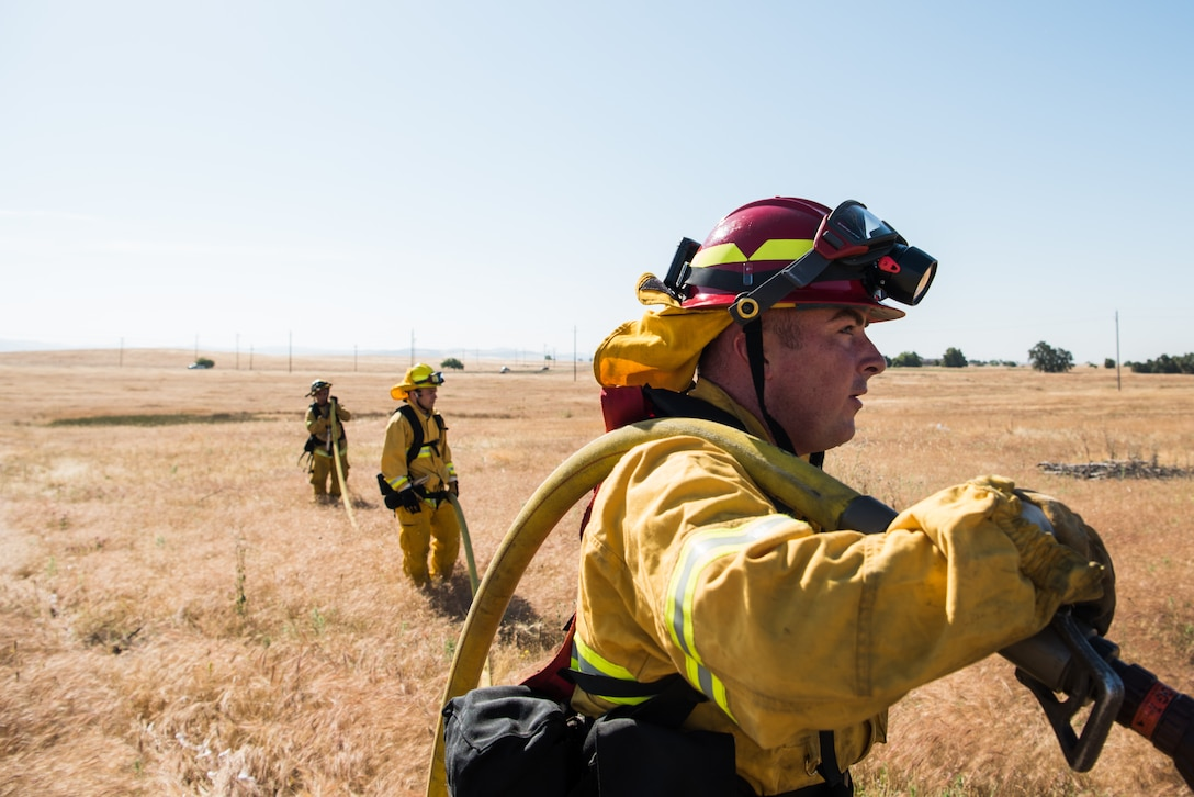 The 2017 California wildland fire season was the most destructive on record. According to CAL FIRE, more than 9,000 fires burned approximately 1.25 million acres. Once again, wildland fire season is in full-swing and the 9th Civil Engineer Squadron fire department has advice to help keep people safe.