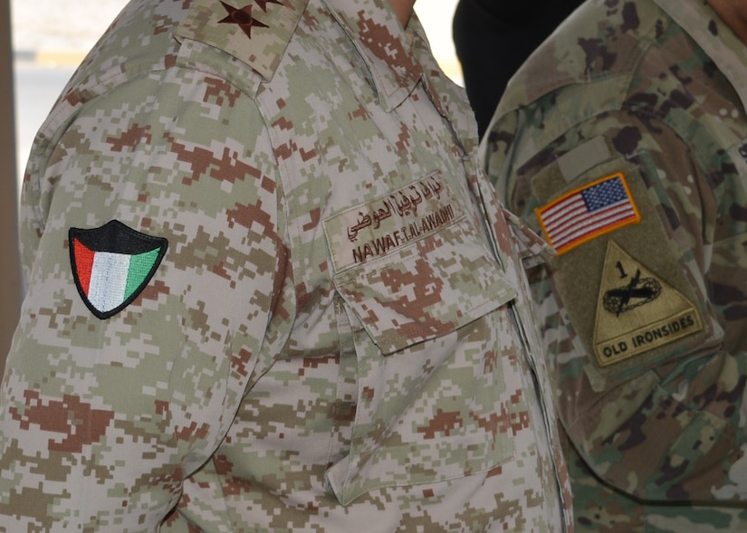 Kuwiat Land Forces and Task Force Spartan soldiers participated in a three-day chemical weapons defense training event June 25-27, 2018 at Camp Arifjan, Kuwait. Participants attended lectures the first two days then conducted a practical exercise in mediacl treatment of casualties on the final day.