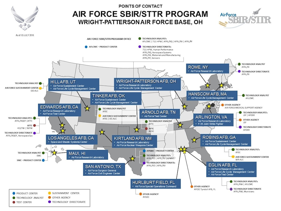 AFSBIR_Program-POC_Map