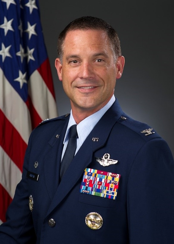 Col. Ethan C. Griffin, official photo, U.S. Air Force