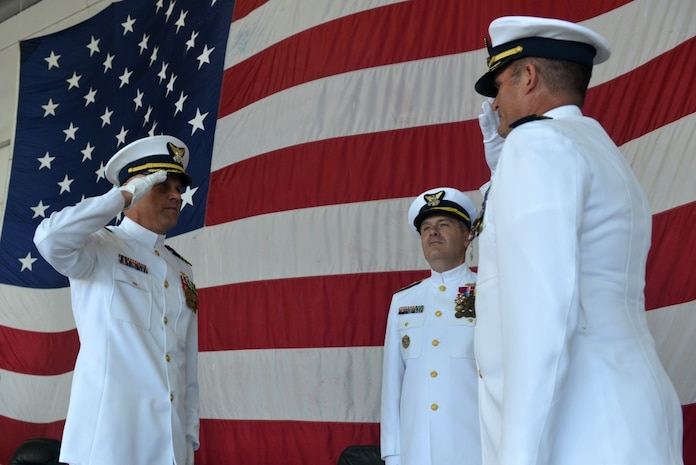 Coast Guard Air Station Barbers Point Holds Change of Command
