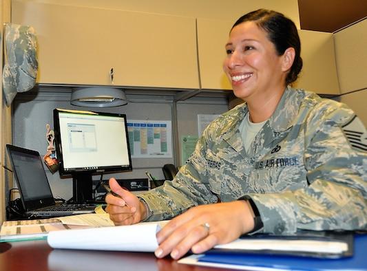 Master Sgt. Vianca Contreras (U.S. Air Force photo by Janis El Shabazz)