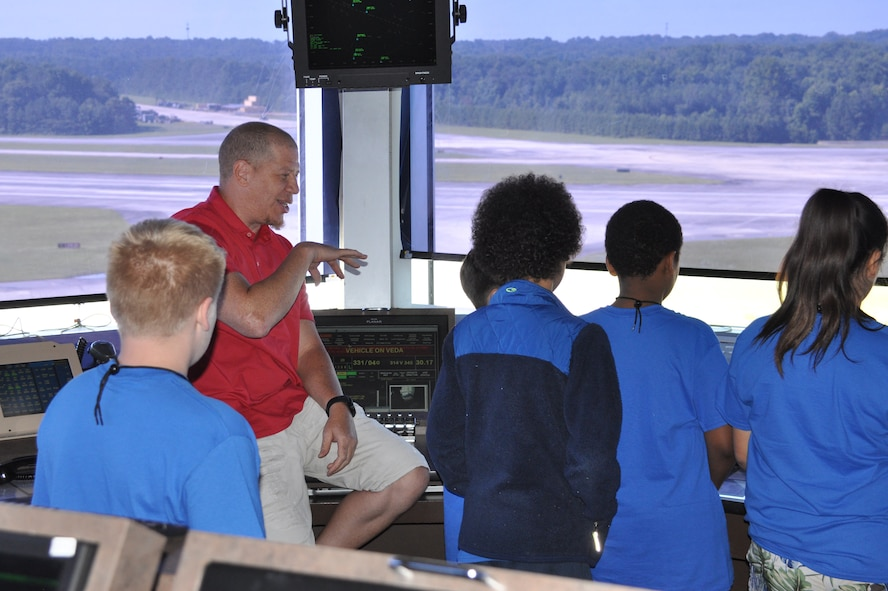 Dobbins tower takes STARBASE campers to new heights
