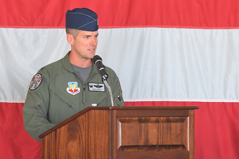 "Col. Joshua ""Dog"" Wood took command of the 388th Operations Group during a ceremony at Hill Air Force Base July 9."