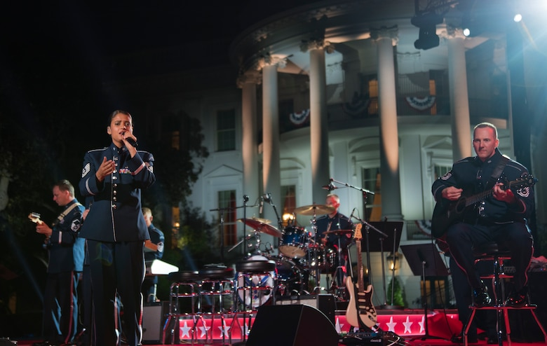 Max Impact performs at White House