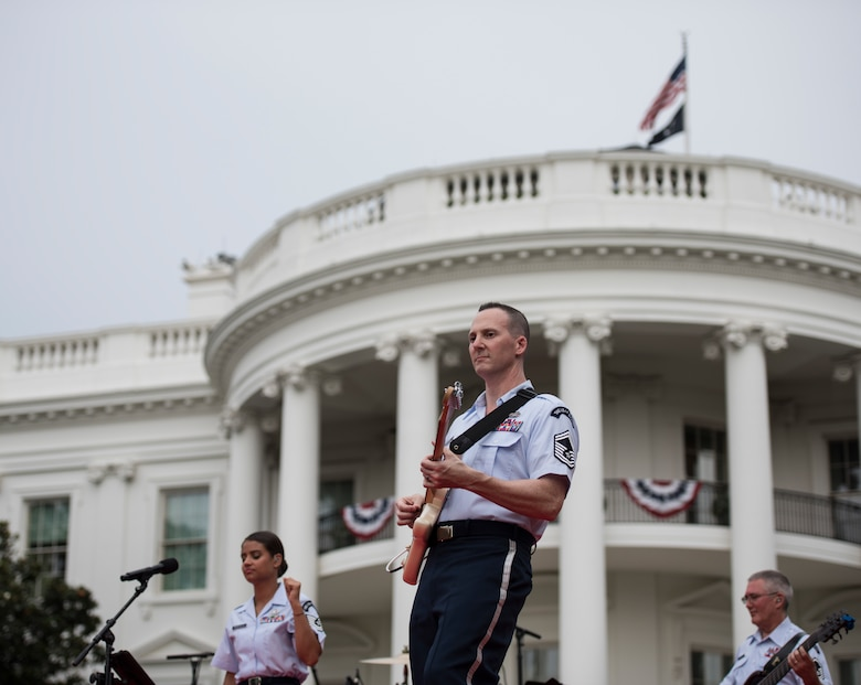 Rocking at the White House