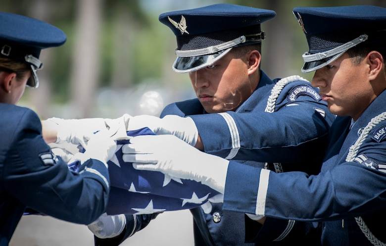 Honor guard graduation July